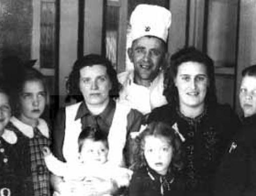 Familie Mestrom begin jaren 30